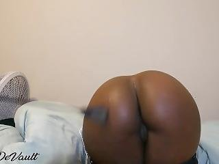 Black Teen Girl Getting Spanked By White Guy