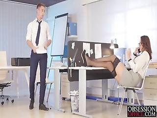 Vanessa Decker Gets Dirty With Her Boss
