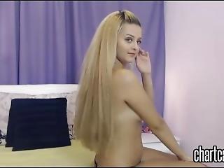 amateur, blonde, nymphomane, solo, webcam