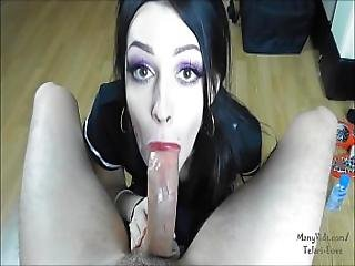 Orgasm Contest By Telari With Big Load In The Mouth