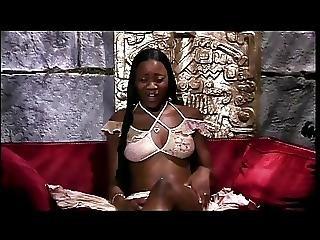 Smoking Hot Ebony Banged In An Egyptian Looking Room