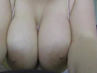 stort bryst, blowjob, kneppe, handjob, pov, bryst fuckning