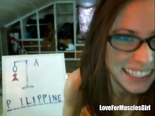 Webcam Muscles Girl 10