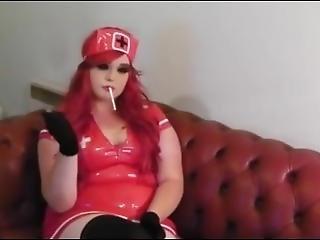 Princess Nurse Smoking