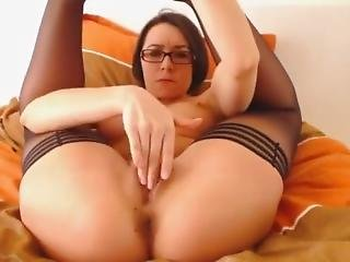 College Babe Strips On Camera - Watch Part2 On 02cam.com