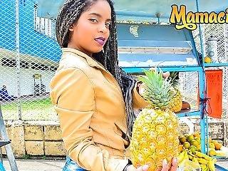 Mamacitaz - Kinky Ebony Latina Picked Up To Ride Cock