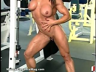 Babe, Clit, Goddess, Muscled, Sexy, Workout, Workplace