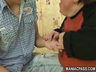 Fat Midget Slut Gets Fucked