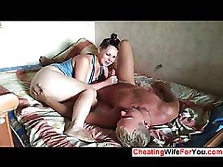 Russian Amateur Couple Have Sex