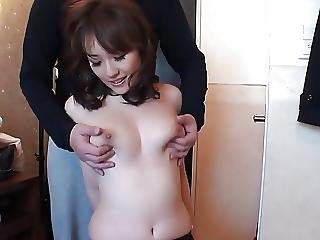 Creampie For A Lovely Busty Japanese