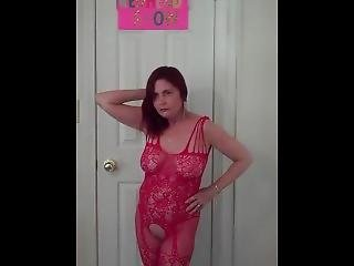 Redhot Redhead Show 7-2-2017 (lingerie Photoshoot Pt 4)