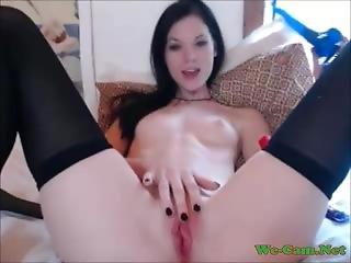 Horny Girl Masturbate Webcam Pretty Girl