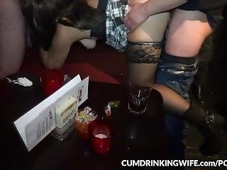 Slutwife Gangbanged By Hundreds Of Guys Again
