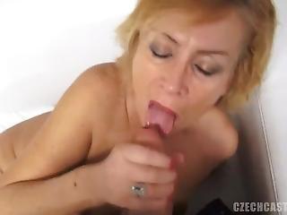 Czech Step Mother Casting - Mature Zuzana