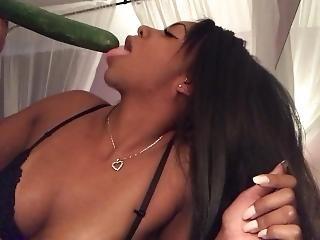 amatør, blowjob, aggurk, ebony, mat, pov, sex, solo, spytt, suging
