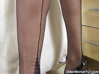English Milf Lucy Gresty Will Never Disappoint You With Her Suckable Boobs And Fuckable Fanny Bonus Video: Uk/dutch Milf Danielle