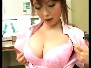Busty Japanese Nurse Hottie