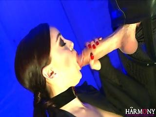 Harmonyvision Liza Del Sierra Takes A Big Cock In Her Ass