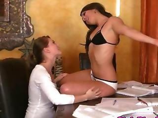 She Will Get More Than Just A Massage
