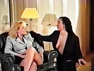 Dyke, Hairy, Lesbian, Slut, Stocking, Strapon, Vintage