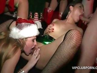 Xmas Hardcore Sex Party In The Vip Room