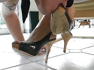 bdsm, femdom, fetish, voet, duits, goddin