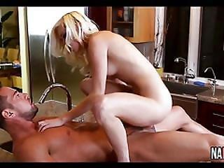 Blonde Small Tits Kitchen Fucked Hard Chloe Foster