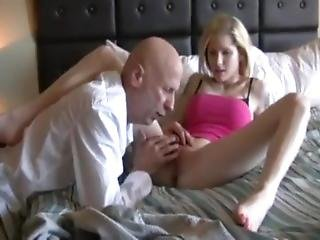 Skinny Blond Drunk Teen Mini Skirt High Heels Fucked Compalation Old Guy
