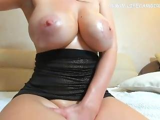 Sixth Size Huge Natural Tits Oil