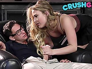 Petite Blonde Pornstar Alyssa Cole Fucking Her Teacher