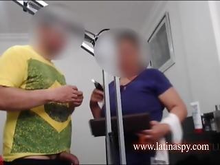 Mom Gets Cum On
