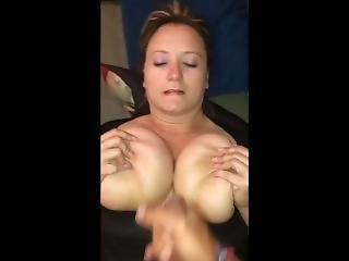 Amateur Blondine Sperma Titten