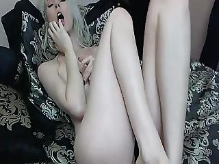 Amateur, Blonde, Cream, Masturbation, Pussy, Sex, Toys