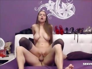 Webcam Russian Sex, Girl Have A Big Natural Tits