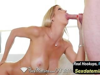 Tall Milf Alexis Fawx Fucked And Creampied