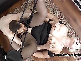 Younger Pool Cleaner Fucks Grandma Lacey