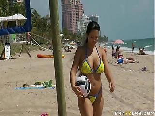 Brazzers - Beach Volleyball Porn Movie