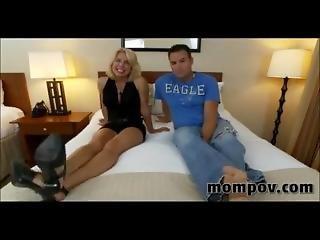 Pov Mom Jenny (43 Year Old Gets Tag Teamed)