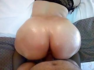 Doggy Style Oil Ass Beautiful Anal