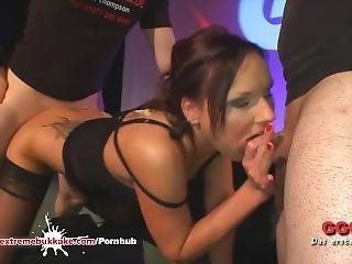 Angie Shared Fucked And Creamed - Extreme Bukkake