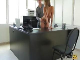 Loan4k Petite Student Girl Has No Job But Wants To Earn Some Cash