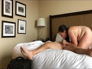 Big Booty Wife Loves Her Boss On Business Trip