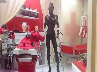 Spending Some Time At The Amazing Latex/rubber Dungeon Studio Black Fun In Germany