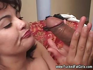 Latina Bbw Fat Plumper Gets Horny