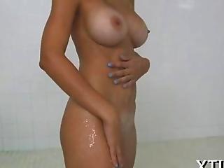 フェラチオ, 巨乳, 陰茎, 手淫, ハードコア, ラティナ, AV女優, ハメ撮り, シャワー, 日焼けライン