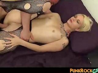 Teacher Fucks Punk Schoolgirl