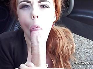 Huge Nipples Redhead Teen Bangs Outdoors Pov