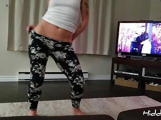 Hot Milf Dancing Stripping