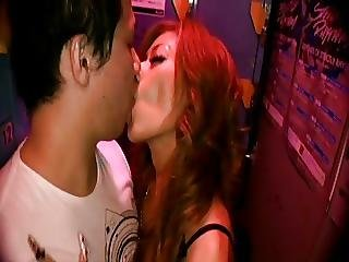 Japanese Girl With Long Nails Locker Room Bj