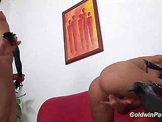 Lesbian Hairy Pussy Fisting